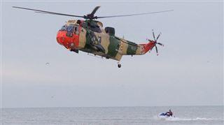 Un enfant de 5 ans disparaît à la mer- il a été retrouvé grâce à l'hélicoptère 4