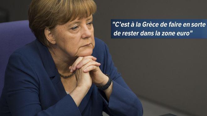 Ferme et inflexible, l'Allemagne dit non aux Grecs 1
