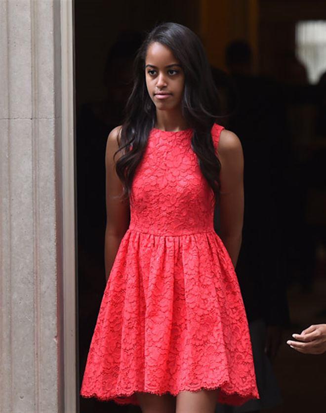 Malia Obama a commencé son stage d'été sur le tournage d'une série américaine 7