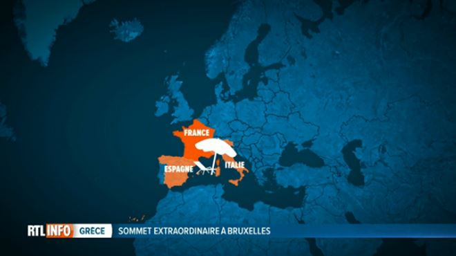 Quels pays veulent que la Grèce quitte la zone euro? Quels sont ceux qui veulent qu'elle reste? 1