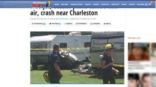 Un avion de chasse F-16 entre en collision en vol avec un avion de tourisme aux Etats-Unis 2