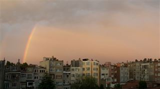 Ce magnifique arc-en-ciel a enflammé les Bruxellois hier soir- voici vos plus belles images (photos) 2