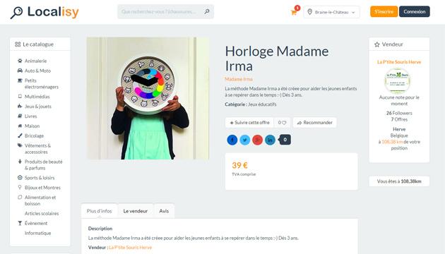 Un li geois de 19 ans a cr un site et une application for Idee commerce en ligne