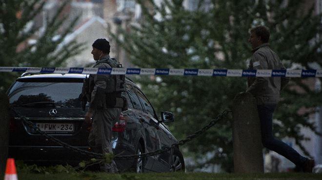 Prise d'otages près de la place Flagey à Ixelles- il s'agirait du même homme qu'il y a deux semaines (photos) 1