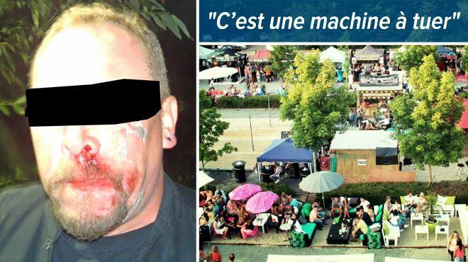 Des participants de Vu à la télé sur RTL tabassés à Seraing-les-bains- Albert est tombé sous les coups de Sinistra, l'ex-sorteur violent du Monastère 1