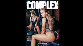 Khloe Kardashian- son shooting hot et non retouché pour Complex Magazine (photos) 13
