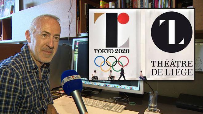 Le logo des JO de Tokyo est une copie presque conforme de celui du Théâtre de Liège- J'ai reçu une centaine de messages en japonais 1