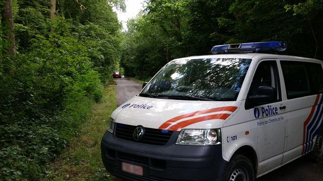 Le corps sans vie d'une femme retrouvé face contre terre dans un bois près de Floreffe 1