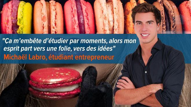 Qui se cache derrière la success story M&A Macarons? Michaël, un futur médecin d'à peine 22 ans ! 1