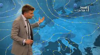 Prévisions météo- des averses intenses et orageuses sur toute le Belgique, 5 à 10l/m² à certains endroits 4