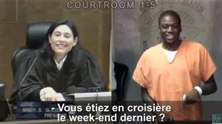 La juge reconnait l'accusé face à elle- Vous étiez sur quel bateau?(vidéo) 31