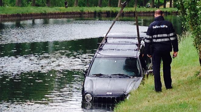 Course-poursuite qui finit dans le canal à Strépy-Bracquegnies- pourquoi le chauffard était-il recherché? (vidéo) 1