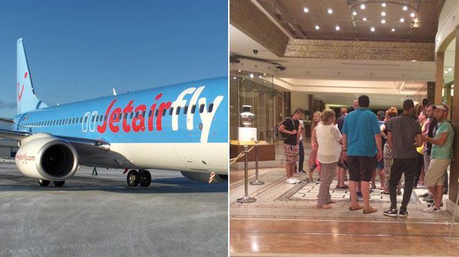 Des Belges attendent 24h à Rhodes après l'accident d'un avion Jetair à Liège- Il y a des bébés et des personnes âgées, c'est honteux! 1