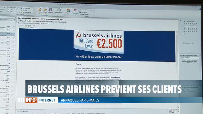 Attention- des escrocs se font passer pour Brussels Airlines pour vous arnaquer 1
