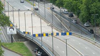 L'opération de désamiantage du viaduc Reyers débute cette semaine 2
