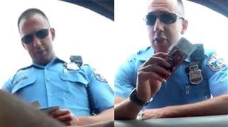 Ce policier a été renvoyé après la diffusion de ces images choquantes (vidéo) 3