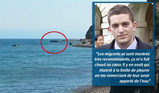 Allongé sur la plage de Lesbos, Mehdi voit 120 migrants débarquer- Ils étaient émus, je ne regrette pas une seconde de les avoir aidés 1