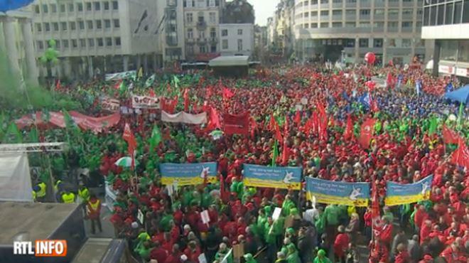 La rentrée sociale sera chaude- voici les dates où Bruxelles sera bloquée par des manifestations 1