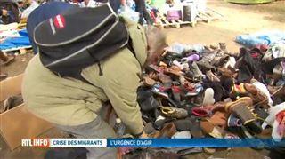 Élan de générosité pour les demandeurs d'asile- des SDF de Bruxelles profitent aussi des dons 2