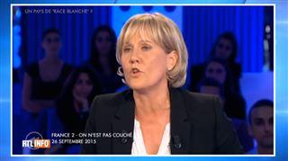 La France est un pays de race blanche- Nadine Morano se fait descendre sur le plateau de C'est pas tous les jours dimanche (vidéo) 3