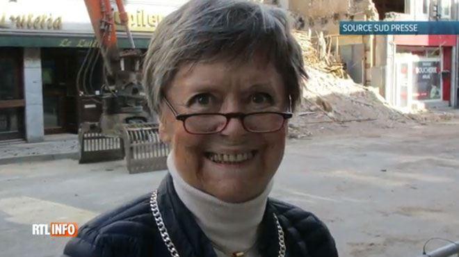 Anne-Marie Lizin a quitté l'hôpital 1