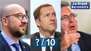 Qui est content ? Voici les cotes que Flamands, Wallons et Bruxellois donnent aux gouvernements fédéral et régionaux 3