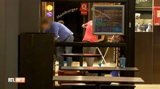 Bagarre d'une violence extrême au Quick de Châtelineau- un suspect interpellé à l'aéroport 4
