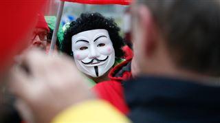 Anonymous met le site de Charles Michel hors service- Nous serons toujours là pour défendre le peuple belge 5