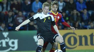 Andorre-Belgique- Kevin De Bruyne inscrit un coup franc somptueux 2