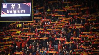 La Belgique va occuper la 1e place du classement FIFA 3