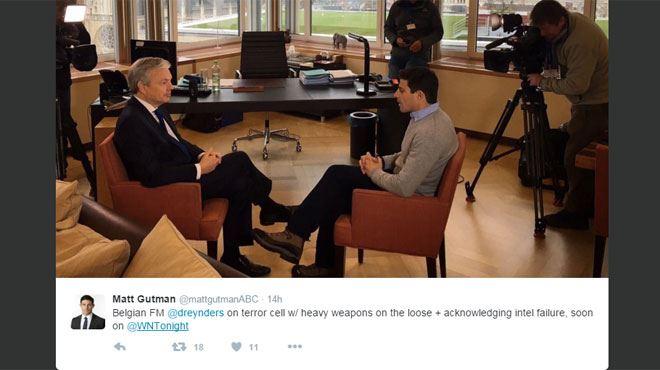 L'interview de Reynders à une chaîne américaine fait grand bruit- Dix terroristes lourdement armés s'apprêtaient à frapper 1