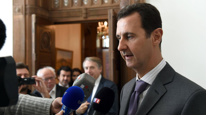 Bachar al-Assad accuse: