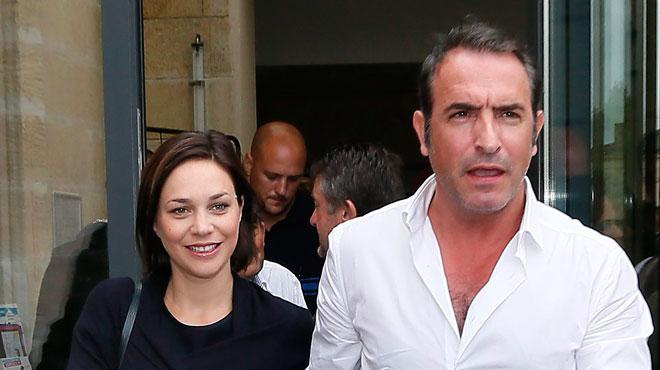 Jean dujardin et nathalie p chalat sont parents d 39 une for Dujardin petit