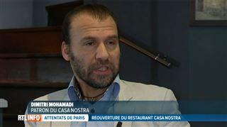 Attentats de Paris- le patron du Casa Nostra explique pourquoi il a vendu les images de l'attaque (vidéo) 2