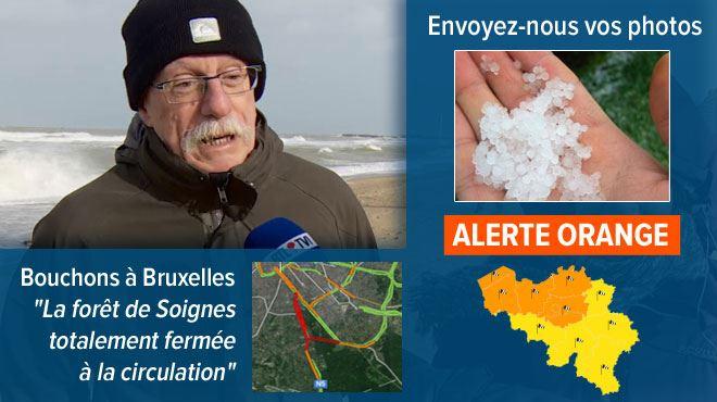 Avis de tempête sur la Belgique- que nous réservent les prochaines heures? 1