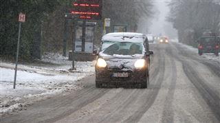 Retour d'un courant polaire- baisse des températures, neige fondante dès ce soir 2