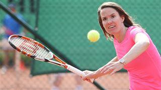 Justine Henin de retour sur le circuit WTA 3