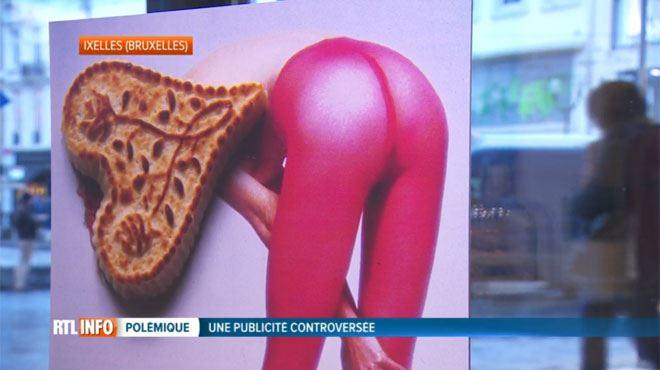 Une pub du biscuitier Dandoy fait polémique par son côté sexiste 1