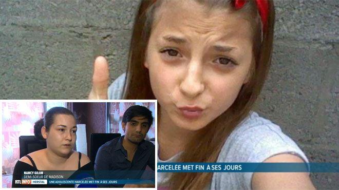 Madison, 14 ans et harcelée sur Facebook, met fin à ses jours à Herstal- sa demi-soeur témoigne 1