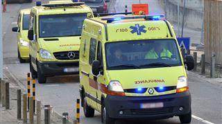 Violente collision à Mouscron entre une moto et une voiture- deux blessés graves 4