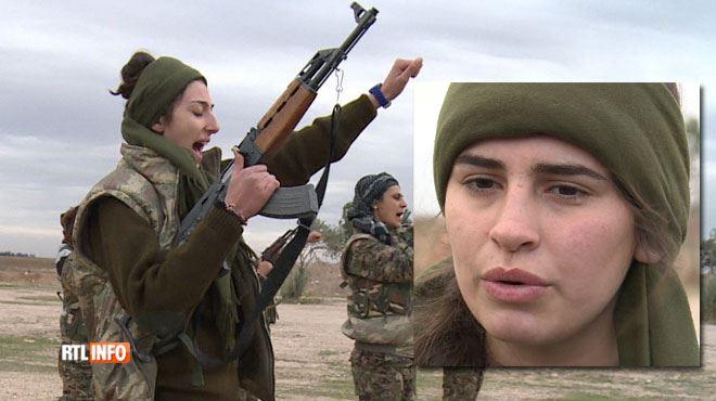 Des centaines de femmes combattent l'EI en Syrie- nos journalistes les ont rencontrées 1